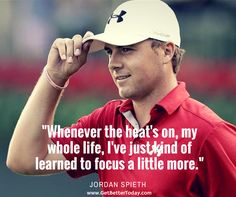 Jordan Spieth is off to a great start today at the Masters..maybe this is why?