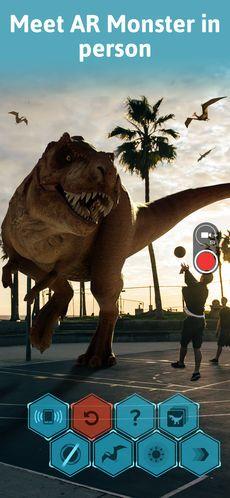 Monster Park - AR Dino World on the AppStore $4.99