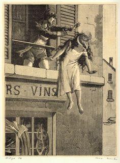 Max Ernst, Collage for Une semaine de bonté (A week of kindness), 1934