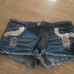 Distress shorts Super cute distress shorts - Celebrity Pink Jeans Shorts Jean Shorts