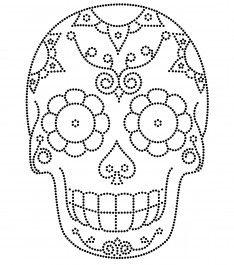 mandalas de caveiras mexicanas