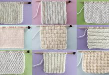 Knit Stitch Patterns for Absolute Beginning Knitters