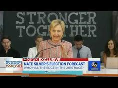 538 launches first general election forecast 2016: Hillary 353 EVs to 183 Trump. 81% chance of win.