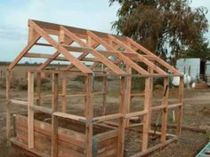 ▶ building a basic low cost greenhouse sj ranch - YouTube