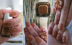Esmalte da Semana: Caramelo / Nail of the Week: Caramel