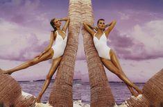 Toni Garrn | Francois Nars | Vogue Japan August 2012 | 'TropicalPrincess' - 3 Sensual Fashion Editorials | Art Exhibits - Anne of Carversville Women's News
