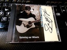 Spinning Our Wheels by John Arthur Martinez (CD 1998) SIGNED! AUTOGRAPHED!