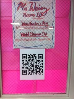 "Using QR codes in the classroom... This can be a great way to ""go deeper"" into student work – especially when they are working on projects that may involve skills, performance and various creations.  QR codes are a simple link that can help a student put physical and virtual elements together."