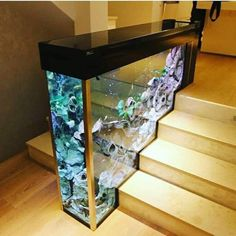 19 Aquarium Decorating Your Staircase Idea. - Best Home DesignYou are in the right place about Fishes pictures Here we offer you the most beautiful pictures about the Fishes lures you are looking for. When you examine the 19 Aquarium Decorating You Aquarium Design, Aquarium Setup, Aquarium Ideas, Aquarium House, Aquarium Stand, Diy Home Decor, Room Decor, Hone Decor Ideas, Tv Decor