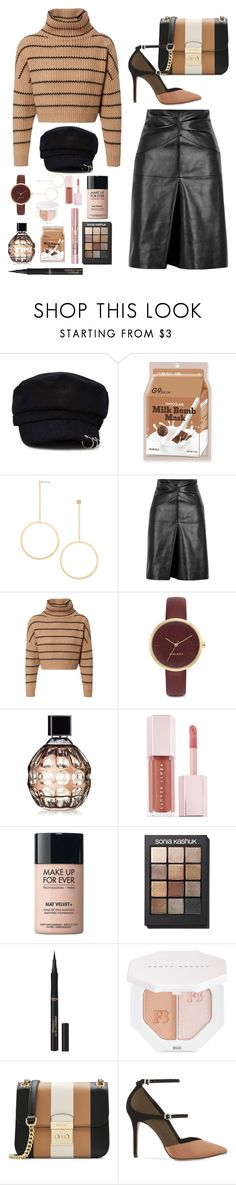 """🍞"" by daeri ❤ liked on Polyvore featuring Forever 21, Isabel Marant, Brunello Cucinelli, Nine West, Jimmy Choo, Puma, MAKE UP FOR EVER, Sonia Kashuk, L'Oréal Paris and MICHAEL Michael Kors"