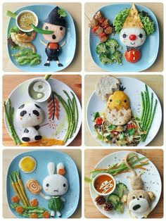 Happy food, what an art!