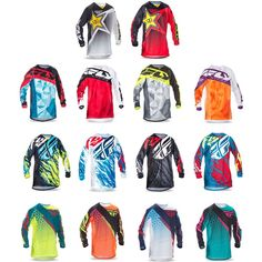 Fly Racing Kinetic Mx Motocross Offroad Jersey