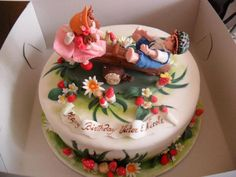 Birthday Cake for Twins - Cake by Albena