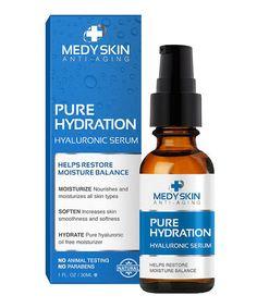 Love this Pure Hydration Hyaluronic Serum on #zulily! #zulilyfinds    MedySkin