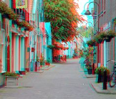 Delft 3d Pictures, Photos, Foto 3d, Magic Eyes, 3d Glasses, 3d Photo, Delft, Red And Blue, Glitch