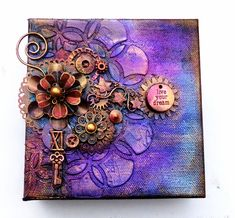 Artsy Lynn: Altered Canvases