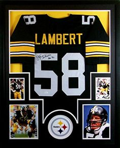 Jack Lambert Framed Jersey Signed JSA COA Autographed Pittsburgh Steelers Mister Mancave http://www.amazon.com/dp/B00MQX401Y/ref=cm_sw_r_pi_dp_tPKswb0ZHB0EA