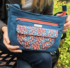This listing is for one PDF pattern to make the Aspen Crossbody Bag. The pattern includes all the instructions, dimensions for fabric cuts, and pattern pieces needed to make the Aspen Crossbody Bag in two different sizes. This pattern has 34 pages that include great instructions and