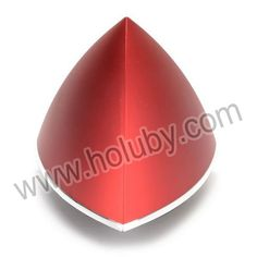 Triangle Shape Design 2 in 1 Wireless Power Amplifier Bluetooth Speaker Support TF Card and MP3(Red)
