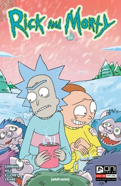 Rick and Morty #8 #OniPress #OniAndMorty Release Date: 11/25/2015
