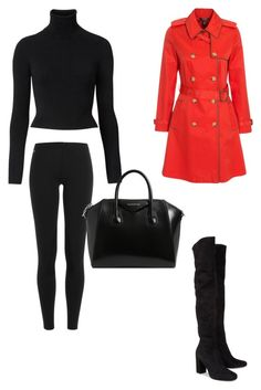 """Untitled #21"" by almamehmedovic-79 ❤ liked on Polyvore featuring Lauren Ralph Lauren, Yves Saint Laurent, Polo Ralph Lauren, Witchery and Givenchy"
