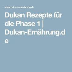 Dukan Rezepte für die Phase 1 | Dukan-Ernährung.de