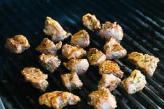 ... Kitchen®: Lamb Souvlaki Recipe: Grilled Lamb Cubes Cooked Greek Style