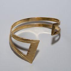 Emma's bracelet, Gold  Bracelet. $300.00, via Etsy.