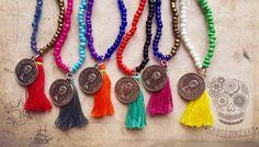 Coin charm Malas