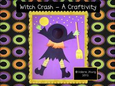 """Witch Crash"" Craftivity"