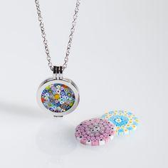 Millefiori necklace :http://www.italianheart.com.au/product/millefiori-necklace