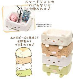 Sumikko Gurashi Tray ~ Plush Tray $12.50 http://thingsfromjapan.net/sumikko-gurashi-tray-plush-tray/ #sumikko gurashi stuff #san x products #kawaii Japanese stuff