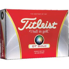 Titleist ® Golf Balls - Tee off your next great marketing campaign with this great product! . Golf balls are priced per dozen boxes and include 1-4 imprint colors on one pole. Imprint measures 7/8 inches. The #1 ball in golf! ®  #propelpromo