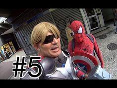 #5 Thor Homem Aranha Spider-Man Marvel Avengers Vingadores Papai RG Copa...