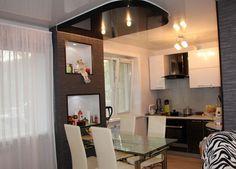 Маленькая гостиная кухня в хрущевке – эффективный дизайн 4