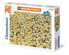 """Clementoni """"Minions Impossible"""" Puzzle (1000 Piece) Cleme... https://www.amazon.com/dp/B00J1AVU4K/ref=cm_sw_r_pi_dp_x_6mjhybXT6SH8Q"""