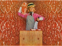 Retrophile Daily: Walls of Meat, 1965 by MewDeep on Flickr.