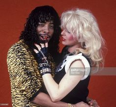 Rick James file photo with member of Mary Jane Girls Get premium, high resolution news photos at Getty Images Book Texture, Teena Marie, Cult Of Personality, Male Icon, Rick James, Play That Funky Music, Neil Young, Motown, Still Image