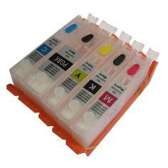 Promo offer US $16.72  570 571 PGI-570 PGBK CLI-571 refillable ink cartridge  For canon PIXMA MG5750 MG5751 MG5752 MG5753 MG6850 MG6851 MG6852 MG6853  #PGBK #refillable #cartridge #canon #PIXMA  #Office