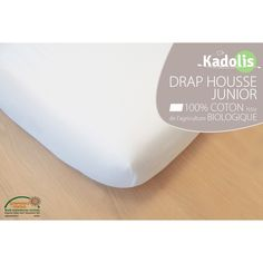 Drap Housse en Coton Bio - Pour lit simple 90x200 cm - Sebio