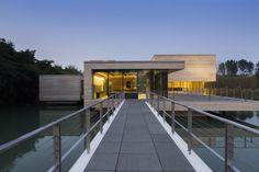 solids | Mu Xin Art Museum in Wuzhenzhen, China by OLI Architecture PLLC