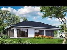 Diy Wood Stove, Home Design 2017, Spanish Bungalow, Three Bedroom House Plan, Model House Plan, Spanish Architecture, Bungalow House Design, House Elevation, Design Case