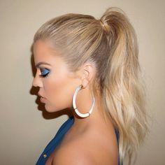 jewels earrings khloe kardashian glamour hoop earrings