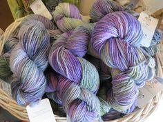 Vesna - our 2013 Minnesota Yarn Shop Hop custom yarn.
