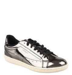 #ESPRIT #Sneaker, #Lackoptik Modische ESPRIT Sneaker für Damen in  angesagter Lackoptik im