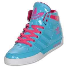 Adidas Shoes High Tops For Girls Blue And Pink