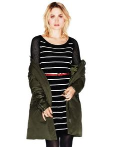 SS Striped sweater dress