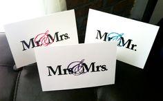 Elegant Wedding Greeting Card - 4x6 Handmade Card and Envelope. $2.50, via Etsy.