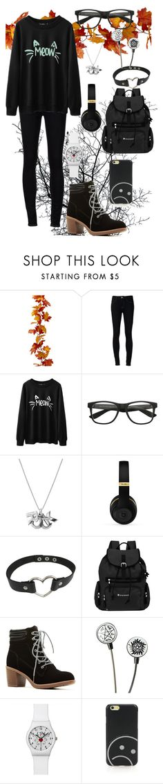 """""""cute"""" by meadowrunner on Polyvore featuring Ström, Edge Only, Sherpani and Marc by Marc Jacobs"""