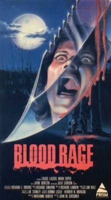 El señor de los bloguiños: Blood Rage (1987) de John Grissmer